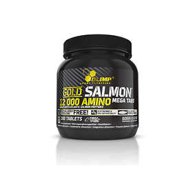 Olimp Sport Nutrition Gold Salmon 12000 Amino Mega 300 Tablets