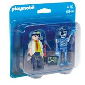 Playmobil City Action 6844 Scientist with Robot Duo Pack