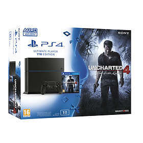 Sony PlayStation 4 (PS4) 1To (+ Uncharted 4: A Thief's End)