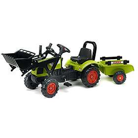 Falk Toys Claas Arion 410 + Loader + Arch + Trailer (2040AM)