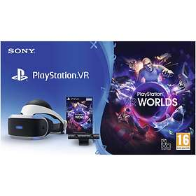 Sony PlayStation VR - Worlds Bundle (ml. Kamera)