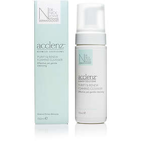 Dr Nick Lowe Acclenz Purify & Renew Foaming Cleanser 150ml
