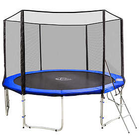 TecTake Trampoline with Safety Net 427cm