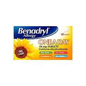 Benadryl Allergy One A Day 30 Tablets
