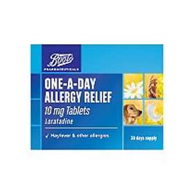 Boots One-A-Day Allergy Relief 10mg Loratadine 30 Tablets