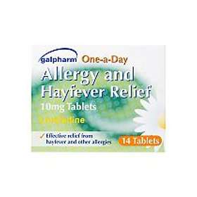 Perrigo Galpharm Hayfever And Allergy Relief One-a-Day 10mg 14 Tablets