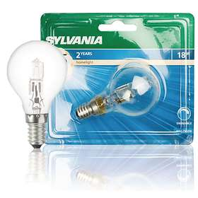 Sylvania Classic Eco Ball 205lm 2800K E14 18W (Dimmable)