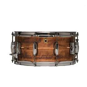 "Ludwig Raw Copper Phonic Snare 14""x6.5"""