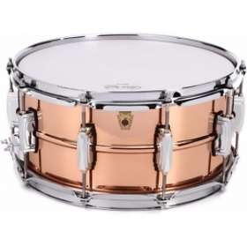 """Ludwig Hammered Copper Phonic 14""""x6.5"""""""