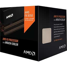AMD FX-Series FX-8350 4.0GHz Socket AM3+ Box incl. Wraith Cooler