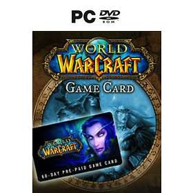 World of Warcraft - 120 Day Game Time Card