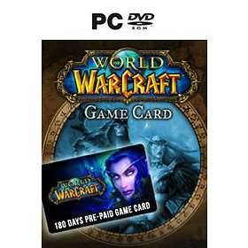 World of Warcraft - 180 Day Game Time Card