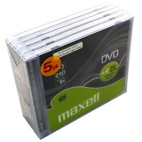 Maxell DVD+R DL 8,5GB 2,4x 1-pack Jewelcase