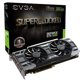 EVGA GeForce GTX 1080 SC Gaming ACX 3.0 HDMI 3xDP 8GB