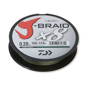 Daiwa J-Braid X8 0.20mm 150m
