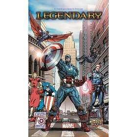 Legendary: Captain America (exp.)