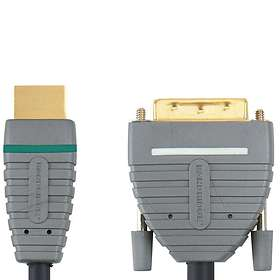 Bandridge Blue HDMI - DVI-D Dual Link 5m
