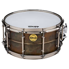 """ddrum Modern Tone The BKB Patina Snare 14""""x7"""""""