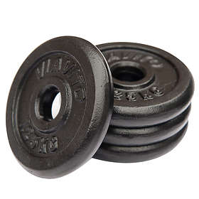 Viavito Cast Iron Standard Weight Plates 4x1.25kg
