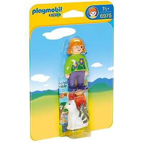 Playmobil 1.2.3 6975 Woman With Cat