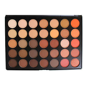 Morphe Brushes 35O 35 Color Nature Glow Eyeshadow Palette 56.2g