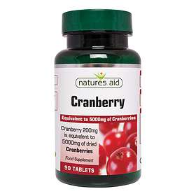Natures Aid Cranberry 200mg 90 Tabletter