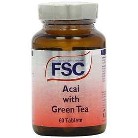 FSC Acai with 1000mg Green Tea 60 Tabletter