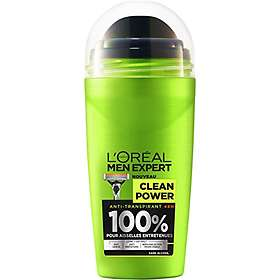 L'Oreal Men Expert Clean Power Anti-Perspirant Roll-On 50ml