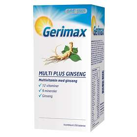 Gerimax Multi Plus Ginseng 200 Tabletter