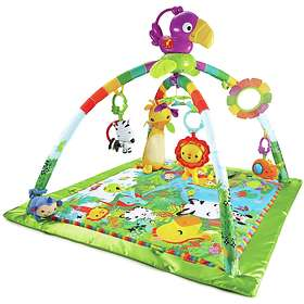 Fisher-Price Rainforest Music & Lights Deluxe Gym Baby Gym