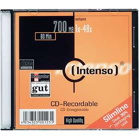 Intenso CD-R 700MB 48x 10-pack Jewelcase