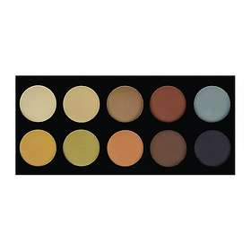 Crown Brush 10 Colour Pressed Powder Contour Palette
