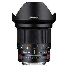 Samyang MF 20/1.8 ED AS UMC for Olympus/Panasonic m4/3