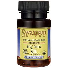Swanson Ultra Albion Chelated Zinc 30mg 90 Capsules