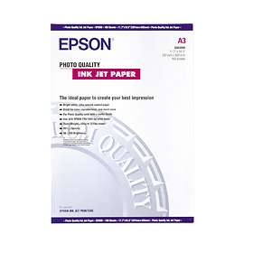 Epson Photo Quality Ink Jet Paper 104g A3 100st