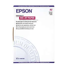 Epson Photo Quality Ink Jet Paper 102g A2 30st