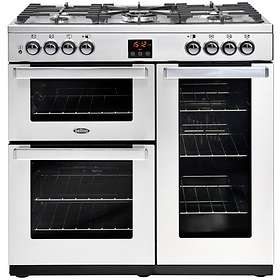 Belling Cookcentre 90DFT (Stainless Steel)