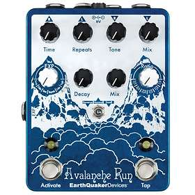 EarthQuaker Devices Avalanche Run Stereo Delay/Reverb
