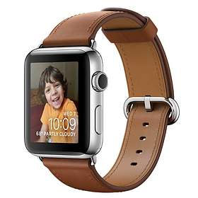 Apple Watch Series 2 38mm Stainless Steel with Classic Buckle