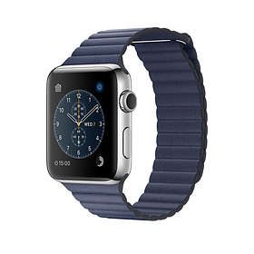 Apple Watch Series 2 42mm Stainless Steel with Leather Loop