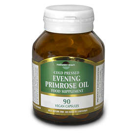 Nature's Own Evening Primrose Oil 500mg 90 Capsules