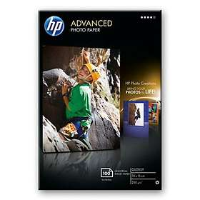 HP Advanced Glossy Photo Paper 250g 10x15cm 100st