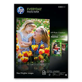 HP Everyday Semi-gloss Photo Paper 170g A4 25st