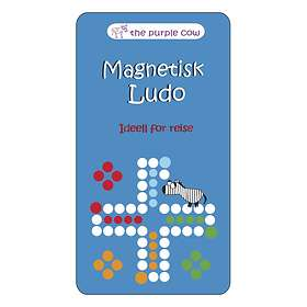 The Purple Cow Magnetic Ludo (pocket)