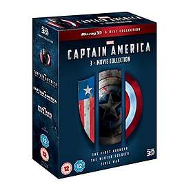 Captain America - 3 Movie Collection (3D)