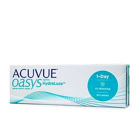 Johnson & Johnson Acuvue Oasys 1 Day with HydraLuxe (30-pakning)