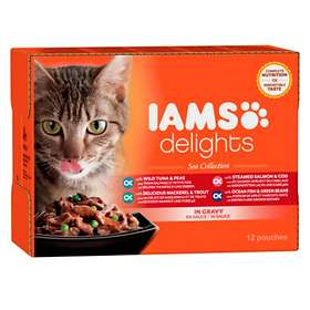 Iams Cat Delights Sea Collection Gravy 12x0,085kg