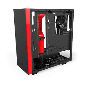 NZXT Source S340 Elite (Noir/Rouge/Transparent)