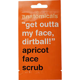 Anatomicals Get Outta My Face Dirtball! Apricot Face Scrub 15ml