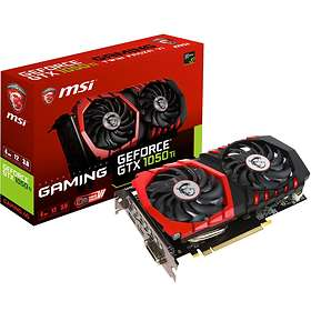 MSI GeForce GTX 1050 Ti Gaming HDMI DP 4GB